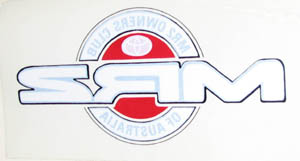 Windscreen logo